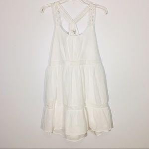 Madewell Tunic Dress Size Small White Sleeveless